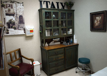 Italy Exam Room