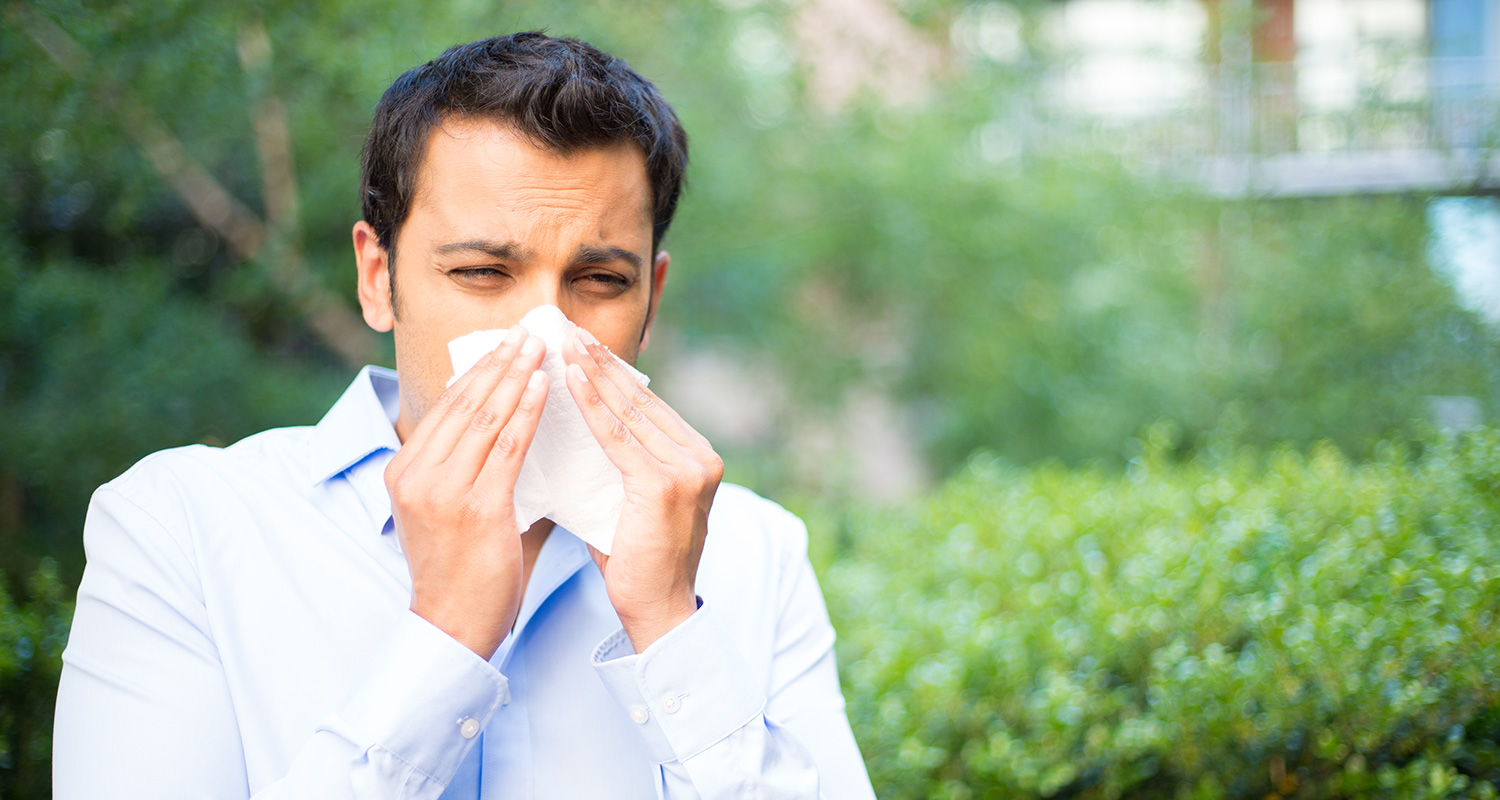Is asthma caused by allergies?